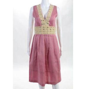 **Lauren Moffatt pink dress